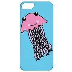 Jellyfish Cute Illustration Cartoon Apple Iphone 5 Classic Hardshell Case
