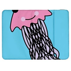 Jellyfish Cute Illustration Cartoon Samsung Galaxy Tab 7  P1000 Flip Case