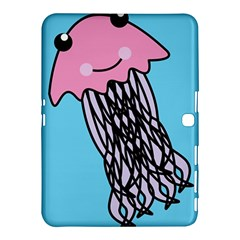 Jellyfish Cute Illustration Cartoon Samsung Galaxy Tab 4 (10 1 ) Hardshell Case
