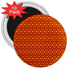 Pattern Creative Background 3  Magnets (10 Pack)  by Nexatart