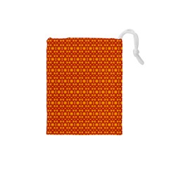 Pattern Creative Background Drawstring Pouches (small)