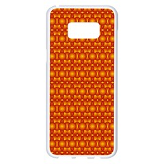 Pattern Creative Background Samsung Galaxy S8 Plus White Seamless Case by Nexatart