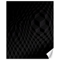 Pattern Dark Black Texture Background Canvas 16  X 20