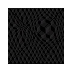 Pattern Dark Black Texture Background Acrylic Tangram Puzzle (6  X 6 )