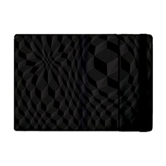Pattern Dark Black Texture Background Apple Ipad Mini Flip Case