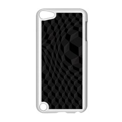 Pattern Dark Black Texture Background Apple Ipod Touch 5 Case (white)
