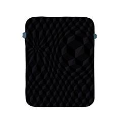 Pattern Dark Black Texture Background Apple Ipad 2/3/4 Protective Soft Cases