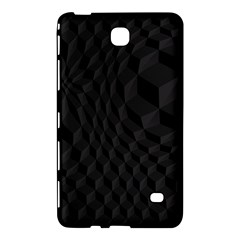 Pattern Dark Black Texture Background Samsung Galaxy Tab 4 (8 ) Hardshell Case