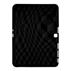 Pattern Dark Black Texture Background Samsung Galaxy Tab 4 (10 1 ) Hardshell Case