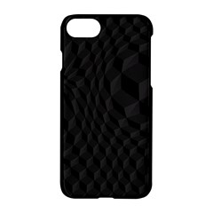 Pattern Dark Black Texture Background Apple Iphone 7 Hardshell Case