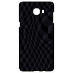 Pattern Dark Black Texture Background Samsung C9 Pro Hardshell Case