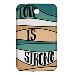 Love Sign Romantic Abstract Samsung Galaxy Tab 3 (7 ) P3200 Hardshell Case