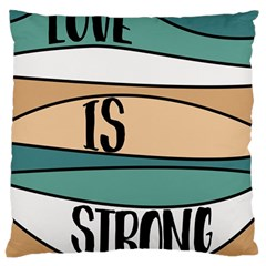 Love Sign Romantic Abstract Standard Flano Cushion Case (two Sides)