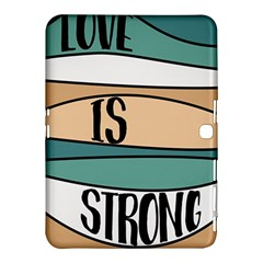 Love Sign Romantic Abstract Samsung Galaxy Tab 4 (10 1 ) Hardshell Case