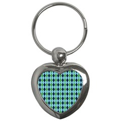 Rockabilly Retro Vintage Pin Up Key Chains (heart)