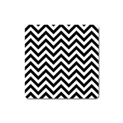 Wave Background Fashion Square Magnet