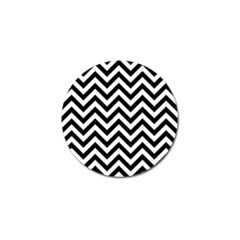 Wave Background Fashion Golf Ball Marker (4 Pack) by Nexatart