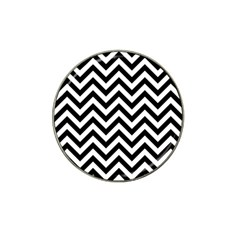 Wave Background Fashion Hat Clip Ball Marker (4 Pack) by Nexatart