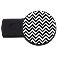 Wave Background Fashion Usb Flash Drive Round (4 Gb)