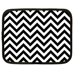Wave Background Fashion Netbook Case (large)