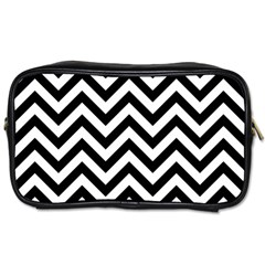 Wave Background Fashion Toiletries Bags