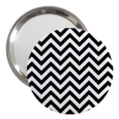 Wave Background Fashion 3  Handbag Mirrors