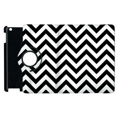 Wave Background Fashion Apple Ipad 3/4 Flip 360 Case