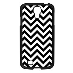 Wave Background Fashion Samsung Galaxy S4 I9500/ I9505 Case (black) by Nexatart