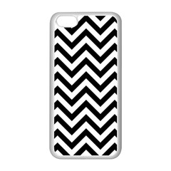 Wave Background Fashion Apple Iphone 5c Seamless Case (white)
