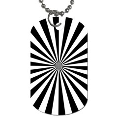Rays Stripes Ray Laser Background Dog Tag (two Sides)