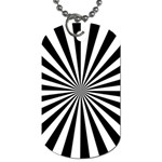 Rays Stripes Ray Laser Background Dog Tag (Two Sides) Front