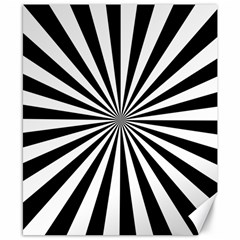 Rays Stripes Ray Laser Background Canvas 8  X 10
