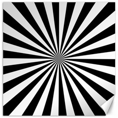 Rays Stripes Ray Laser Background Canvas 16  X 16