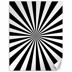 Rays Stripes Ray Laser Background Canvas 18  X 24