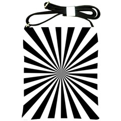 Rays Stripes Ray Laser Background Shoulder Sling Bags by Nexatart