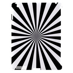 Rays Stripes Ray Laser Background Apple Ipad 3/4 Hardshell Case (compatible With Smart Cover) by Nexatart