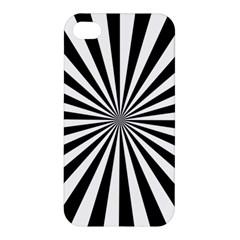 Rays Stripes Ray Laser Background Apple Iphone 4/4s Premium Hardshell Case