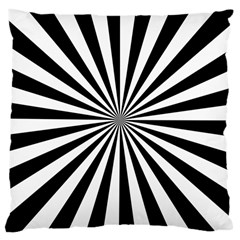 Rays Stripes Ray Laser Background Large Cushion Case (two Sides)