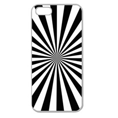 Rays Stripes Ray Laser Background Apple Seamless Iphone 5 Case (clear)