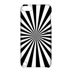 Rays Stripes Ray Laser Background Apple Ipod Touch 5 Hardshell Case With Stand