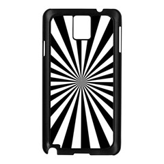 Rays Stripes Ray Laser Background Samsung Galaxy Note 3 N9005 Case (black)