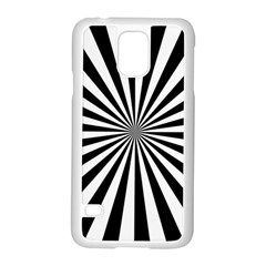 Rays Stripes Ray Laser Background Samsung Galaxy S5 Case (white)
