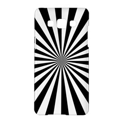 Rays Stripes Ray Laser Background Samsung Galaxy A5 Hardshell Case