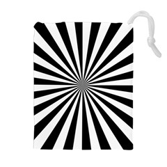 Rays Stripes Ray Laser Background Drawstring Pouches (extra Large)