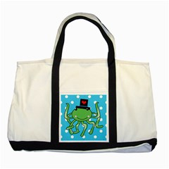 Octopus Sea Animal Ocean Marine Two Tone Tote Bag
