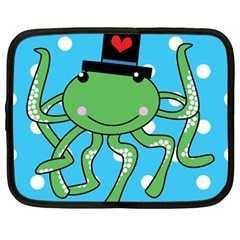 Octopus Sea Animal Ocean Marine Netbook Case (large)