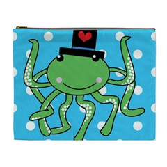 Octopus Sea Animal Ocean Marine Cosmetic Bag (xl)