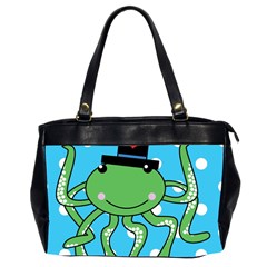 Octopus Sea Animal Ocean Marine Office Handbags (2 Sides)