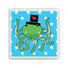 Octopus Sea Animal Ocean Marine Memory Card Reader (square)