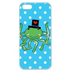 Octopus Sea Animal Ocean Marine Apple Seamless Iphone 5 Case (color)